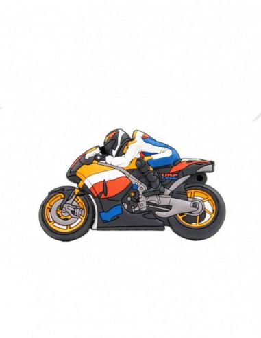 Pendrive Moto naranja