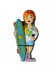 Pendrive Patín Longboard Chica