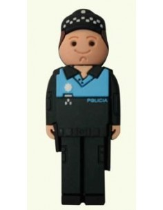 Pendrive Policia Local Azul