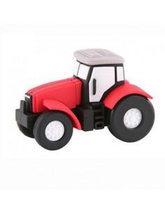 Pendrive Tractor Rojo