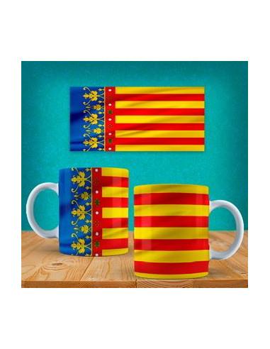 Taza bandera Comunidad valenciana