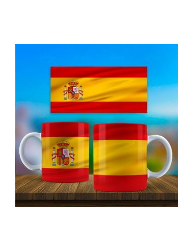 Taza bandera España