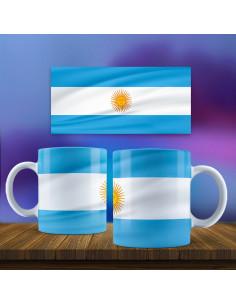 Taza bandera Argentina