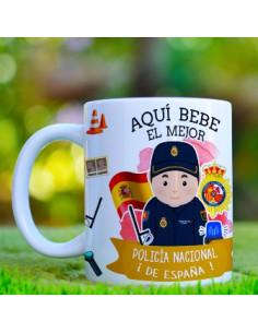 Taza Policía Nacional