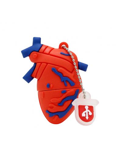 Pendrive corazón órgano