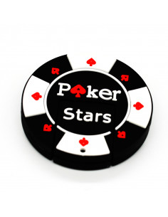 Pendrive Ficha Poker Stars