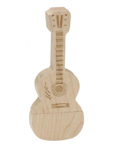 Pendrive Guitarra Española Madera