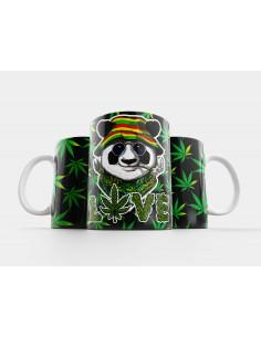 Taza Marihuana Cannabis