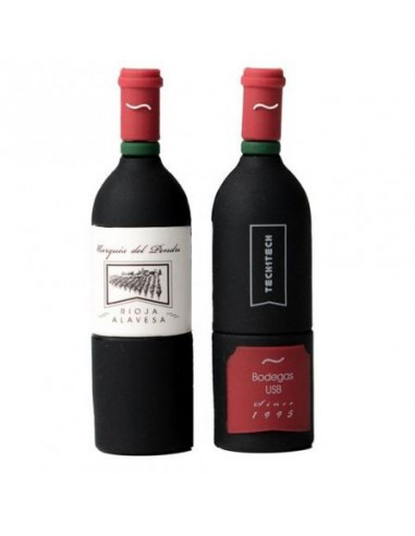 Pendrive Botella de Vino