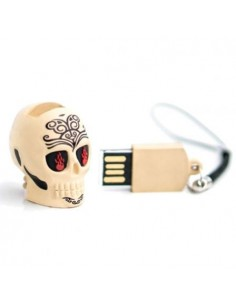 Pendrive Calavera Tatoo