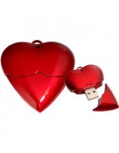 Pendrive Corazón Rojo