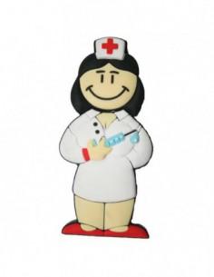 Pendrive Enfermera Morena