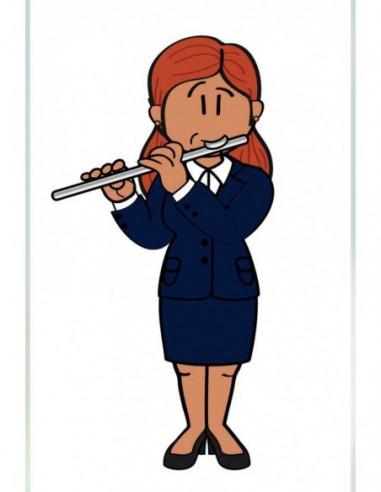 Pendrive Flautista Chica