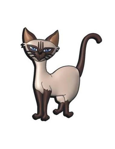 Pendrive Gato SIAMES