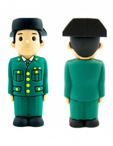Pendrive Guardia Civil Tricornio