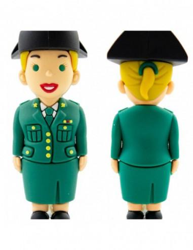 Pendrive Guardia Civil Tricornio chica