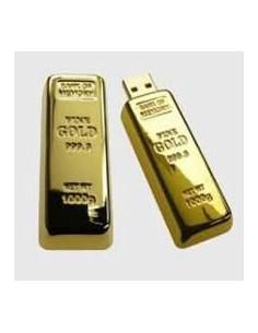 Pendrive Lingote de Oro