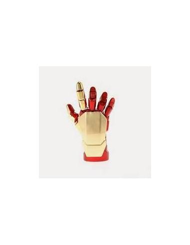 Pendrive mano Iron man  con luz azul...